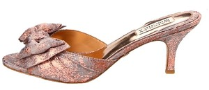 Badgley Mischka Rose Gold Pumps