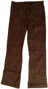 Citizens of Humanity Cords Patch Pockets Flare Pants brown