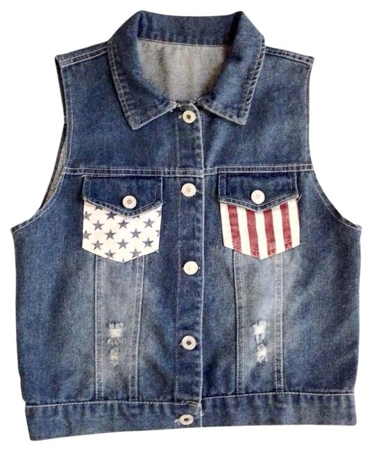 Preload https://item5.tradesy.com/images/flag-american-patriotic-july-4th-denim-holes-distressed-vest-size-os-one-size-1044804-0-0.jpg?width=400&height=650