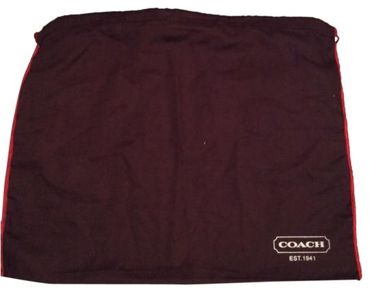 Preload https://item3.tradesy.com/images/coach-dark-brown-medium-dust-bag-10448047-0-1.jpg?width=440&height=440