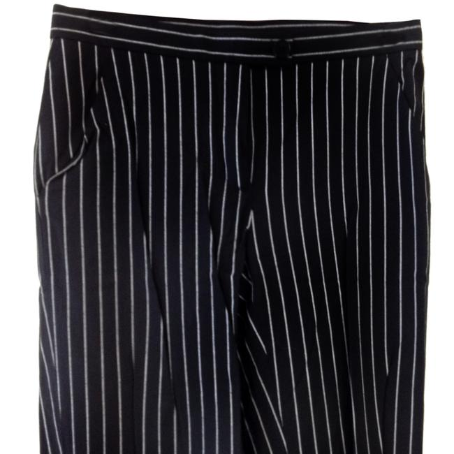 Moschino Straight Pants Black & White