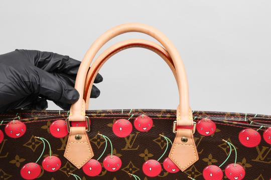 Louis Vuitton Takashi Murakami Limited Tote in ** Brown/Red