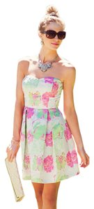 Dina Be Summer Wedding Feminine Floral Girly Dress