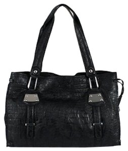 Jessica Simpson It Handbag Croco Handbag It Tote in Black