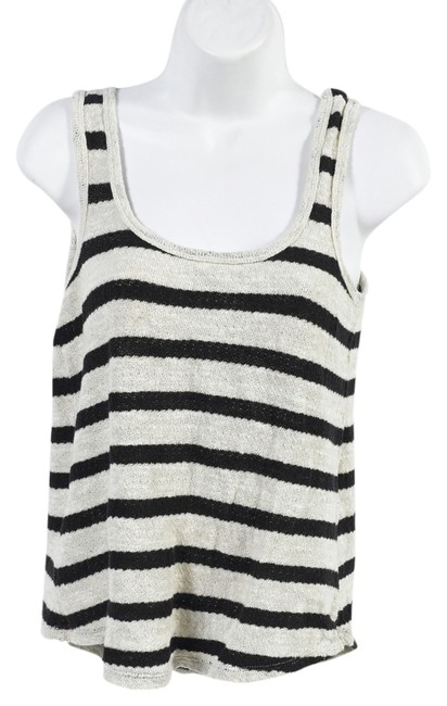 Madewell Hi-line Sleevless Top stripes
