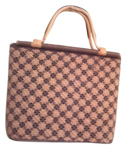 Tote in Beige and brown
