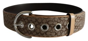 Coach Coach Signature Belt