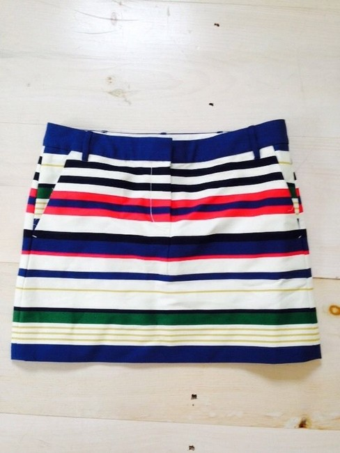 J.Crew Mini Skirt Multi Color