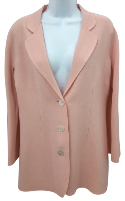 Preload https://item4.tradesy.com/images/genny-pink-wool-jacket-38-blazer-size-6-s-10453738-0-1.jpg?width=400&height=650