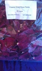Deep Red Wine Dried Rose Petals