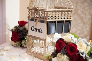 Birdcage For Cards