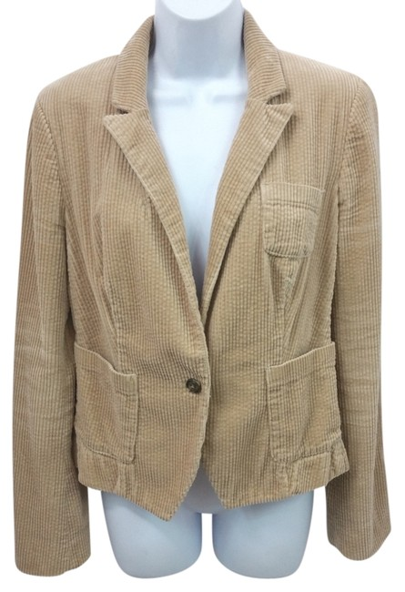 Preload https://img-static.tradesy.com/item/10454011/daughters-of-the-liberation-light-brown-corduroy-cotton-jacket-blazer-size-2-xs-0-2-650-650.jpg
