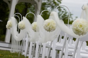 Tulle White 1500 Ft Of Premium Reception Decoration