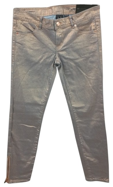 Preload https://img-static.tradesy.com/item/10454284/ax-armani-exchange-metallic-light-orange-blend-legging-denim-jeans-4s-size-4-s-27-0-2-650-650.jpg