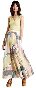 Anthropologie Harlyn Boho Maxi Maxi Skirt Multi