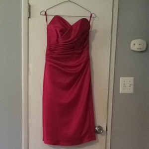 Impression Bridal Fuchsia Dress