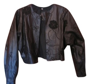 Bruno Magli Leather Jacket