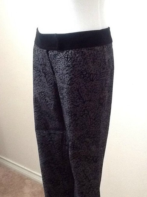 Kenneth Cole Straight Pants Black / Gray