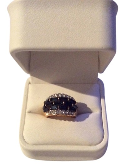 Preload https://item4.tradesy.com/images/sapphire-and-cz-high-fashion-ring-10458418-0-1.jpg?width=440&height=440
