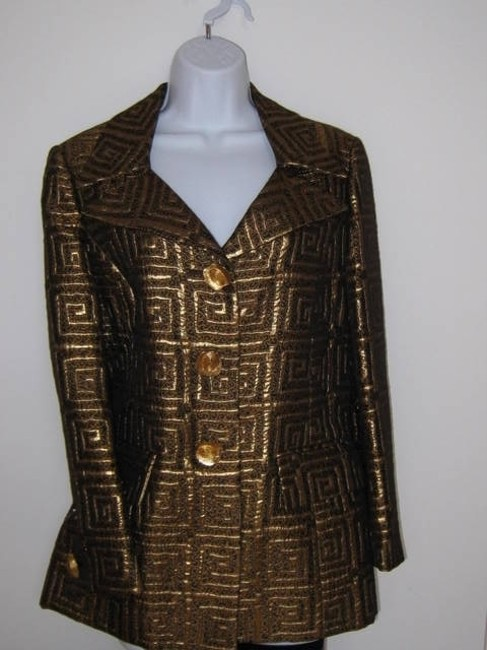 Preload https://item5.tradesy.com/images/alliage-paris-mix-gold-and-brown-metallic-antique-fited-very-stylish-size-10-m-104599-0-0.jpg?width=400&height=650