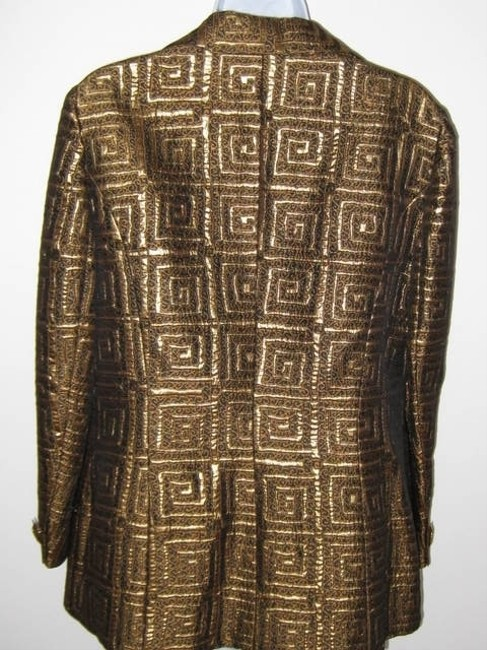 Alliage Paris Mix -Gold and ,Brown, Metallic Jacket