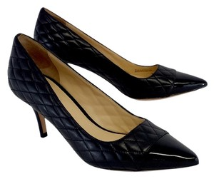 Cole Haan Black Quilted Leather Pumps