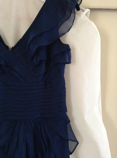 Adrianna Papell Navy Blue Dress