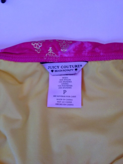 Juicy Couture Juicy Couture Pink Skirted Bikini Hipster Bottom Y47861 NWT