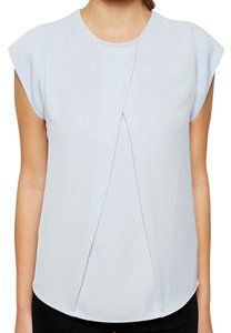 ASOS Origami Pleat Top Sky blue