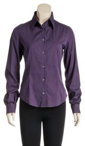Dolce & Gabbana Button Down Shirt Purple