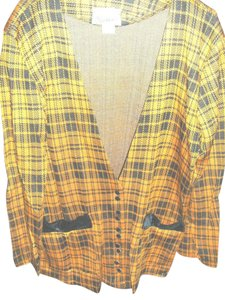 Stella McCartney Dressy Plaid Vintage Pantsuit from STELLA in Gold and Black