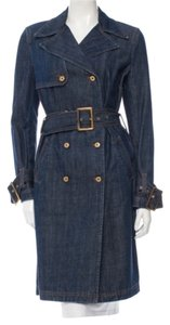 Dolce&Gabbana D&g Dolce And Gabbana Denim Trench Coat