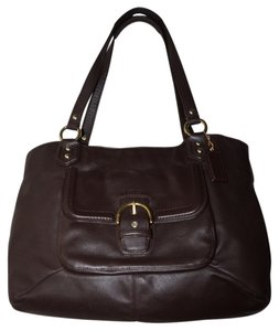 Coach Campbell Tote in Mahogany Brown