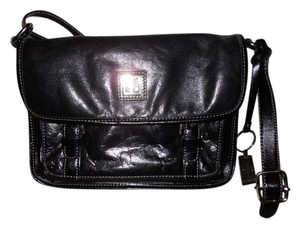 Giani Bernini Leather Organizer Cross Body Bag
