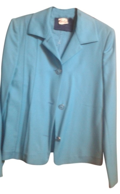 Preload https://item5.tradesy.com/images/versace-turquoise-preowned-spring-jacket-size-6-s-10465249-0-1.jpg?width=400&height=650
