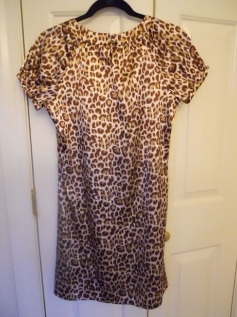BCBGMAXAZRIA short dress animal print on Tradesy