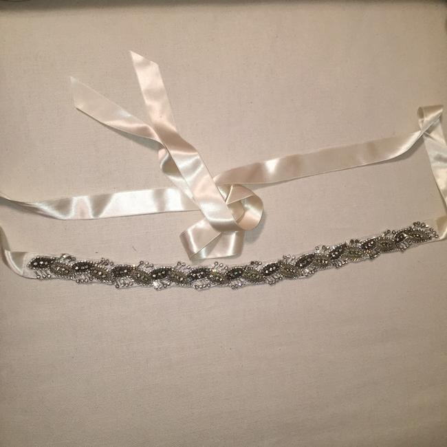 Item - Silver and Ivory Sash