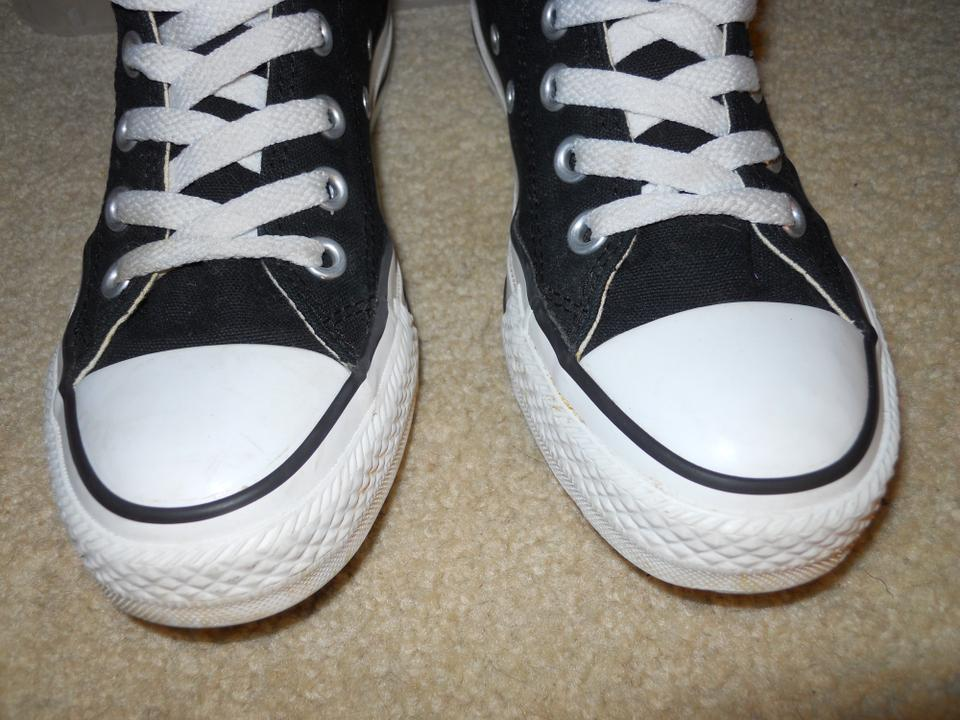 Converse Black All Star Tall High Top Sneakers Size US 6 Regular (M ... 771051759