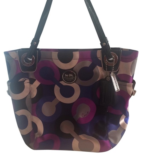 Preload https://item5.tradesy.com/images/coach-multi-blue-and-purple-tote-10465759-0-1.jpg?width=440&height=440