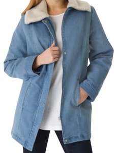 Woman Within Plus Size Fashions Denim Coat