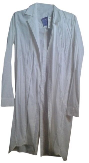 Preload https://img-static.tradesy.com/item/10466098/helmut-lang-white-cotton-light-trech-coat-size-6-s-0-1-650-650.jpg