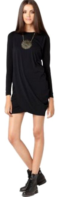 Preload https://item4.tradesy.com/images/bar-iii-black-long-sleeve-draped-mini-short-night-out-dress-size-2-xs-10467808-0-1.jpg?width=400&height=650