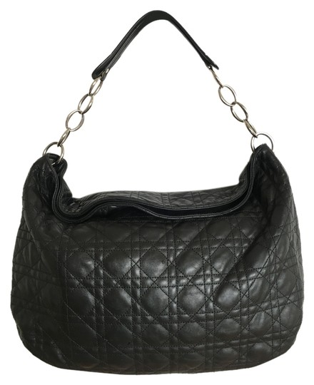 Preload https://item3.tradesy.com/images/dior-quilted-black-lambskin-leather-hobo-bag-10468162-0-2.jpg?width=440&height=440