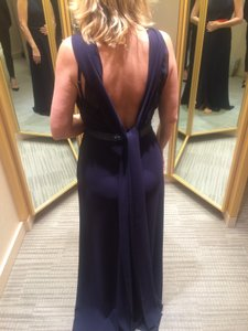 Monique Lhuillier Navy Monique Lhuillier Evening Gown Dress
