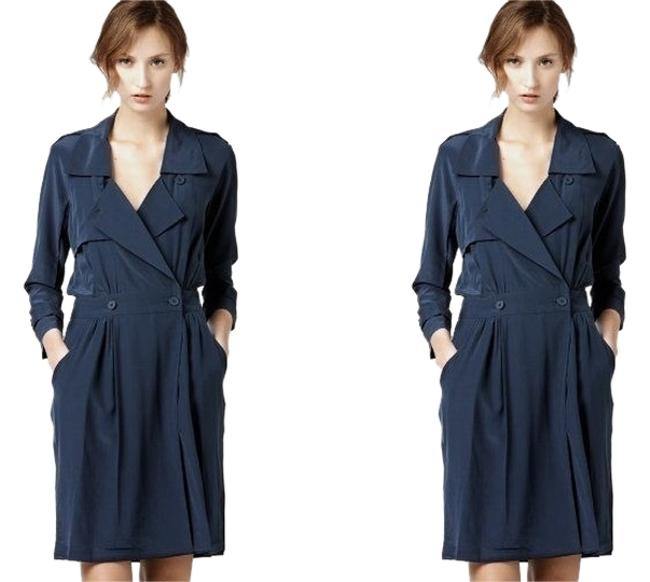 Lacoste short dress Blue Dvf Diane Von Furstenberg Tory Burch The Row Alice + Olivia Elizabeth And James Burberry By Malene Birger Isabel Marant on Tradesy