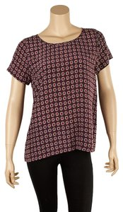 Joie Silk Clancy Top Burgundy