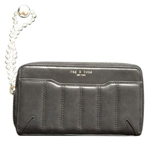 Rag & Bone Wristlet in Black Leather