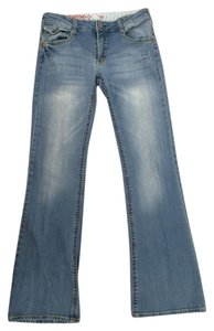 Mossimo Supply Co. Flare Leg Jeans-Light Wash