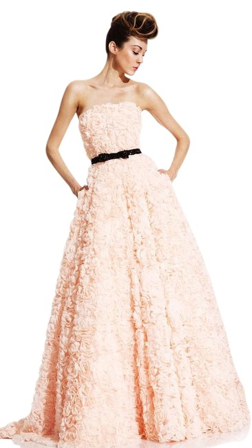 Preload https://item5.tradesy.com/images/peach-408-long-formal-dress-size-12-l-10469569-0-1.jpg?width=400&height=650