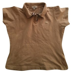 Burberry Vintage Top Tan and Plaid